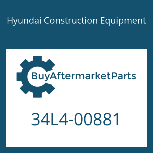 Hyundai Construction Equipment 34L4-00881 - PIPE ASSY-HYD