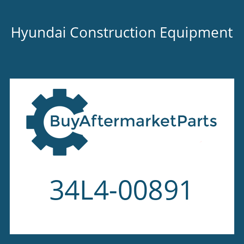 Hyundai Construction Equipment 34L4-00891 - PIPE ASSY-HYD