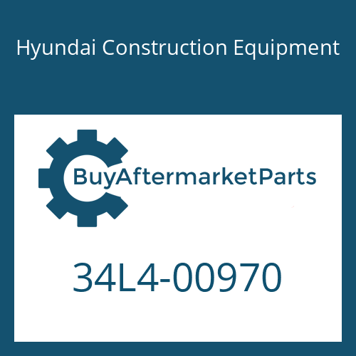 Hyundai Construction Equipment 34L4-00970 - PIPE-COOLING