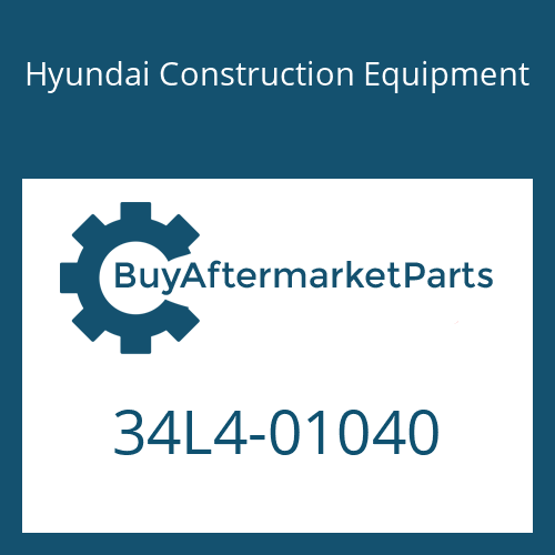 Hyundai Construction Equipment 34L4-01040 - GROMMET