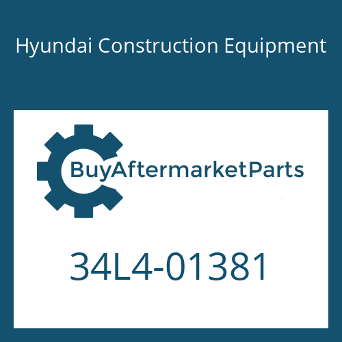 Hyundai Construction Equipment 34L4-01381 - PIPE ASSY-HYD