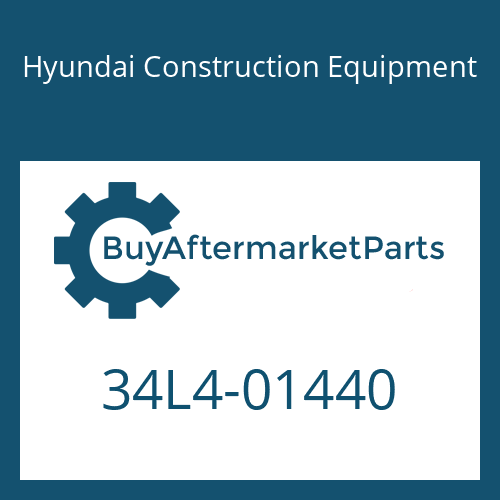 Hyundai Construction Equipment 34L4-01440 - PLATE