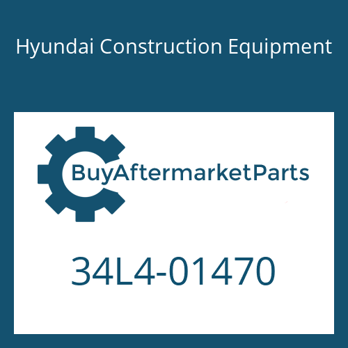 Hyundai Construction Equipment 34L4-01470 - FITTING-BANJO