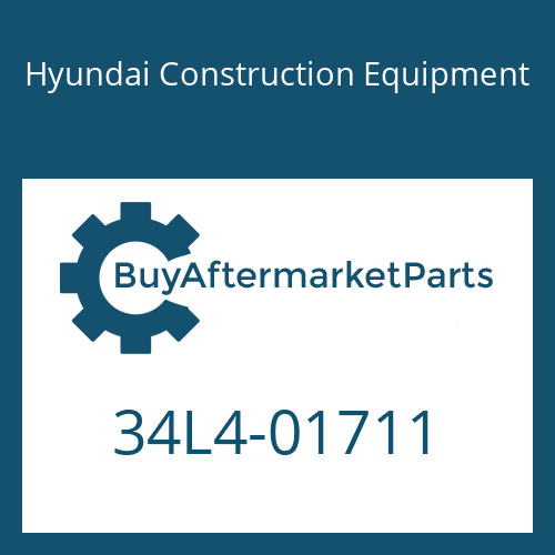 Hyundai Construction Equipment 34L4-01711 - PIPE WA