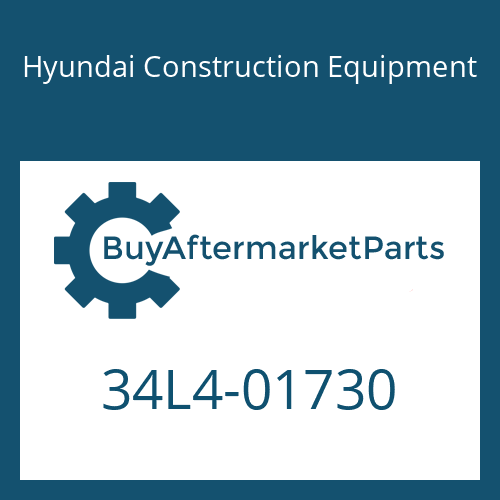 Hyundai Construction Equipment 34L4-01730 - HOSE-RUBBER