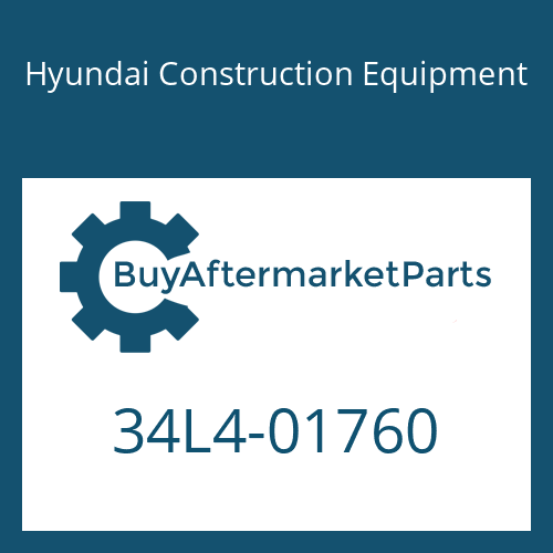 Hyundai Construction Equipment 34L4-01760 - ELBOW-90