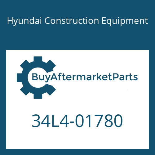 Hyundai Construction Equipment 34L4-01780 - PUMP KIT-STEERING