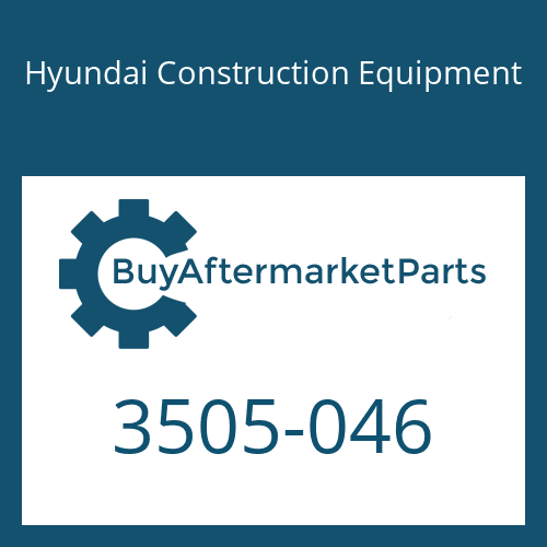 Hyundai Construction Equipment 3505-046 - RETAINER