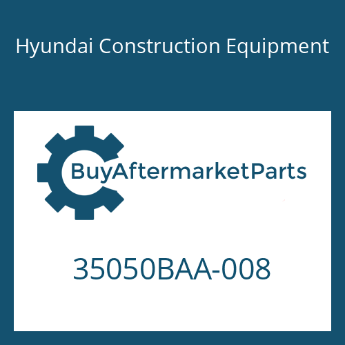 Hyundai Construction Equipment 35050BAA-008 - RETAINER-BEARING
