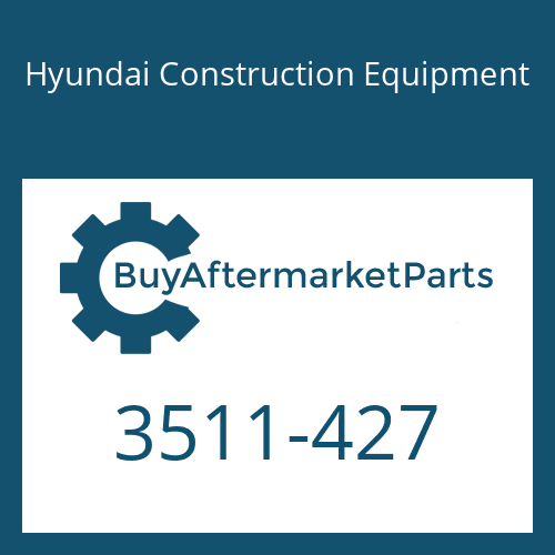Hyundai Construction Equipment 3511-427 - PLUNGER ASSY