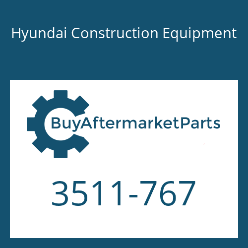 Hyundai Construction Equipment 3511-767 - SPOOL
