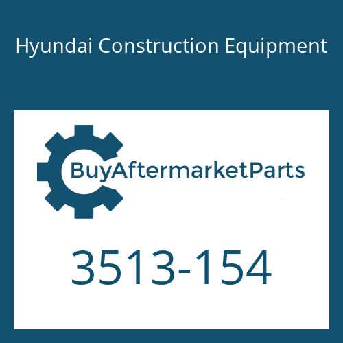Hyundai Construction Equipment 3513-154 - VALVE-CHECK