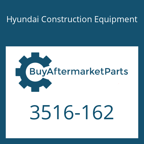 Hyundai Construction Equipment 3516-162 - SLEEVE