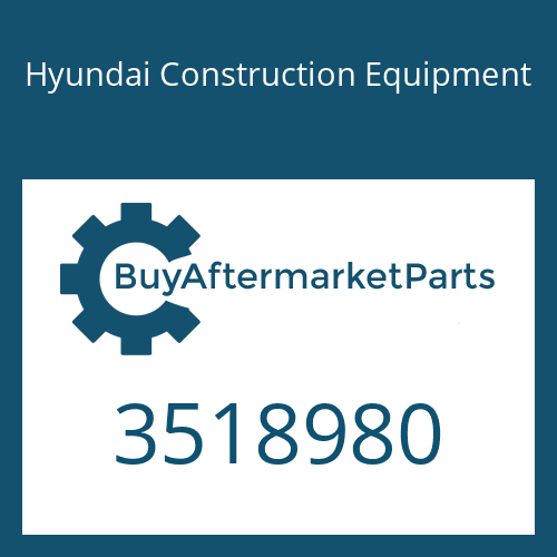 Hyundai Construction Equipment 3518980 - COLLAR-THRUST