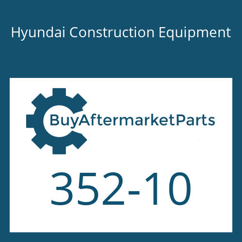 Hyundai Construction Equipment 352-10 - O-RING