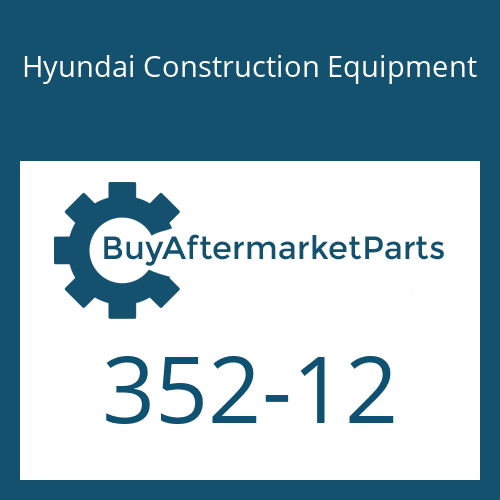 Hyundai Construction Equipment 352-12 - O-RING