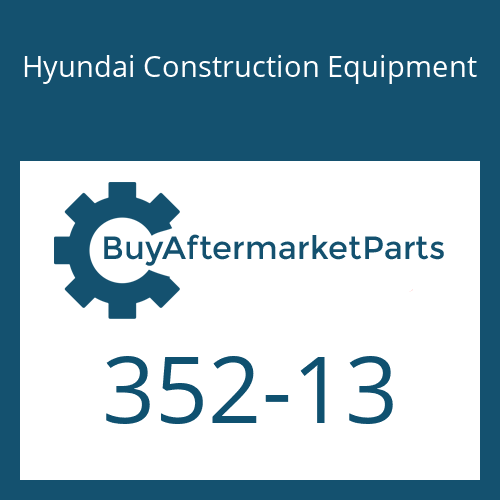 Hyundai Construction Equipment 352-13 - PISTON