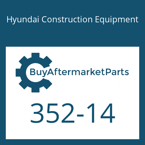 Hyundai Construction Equipment 352-14 - O-RING