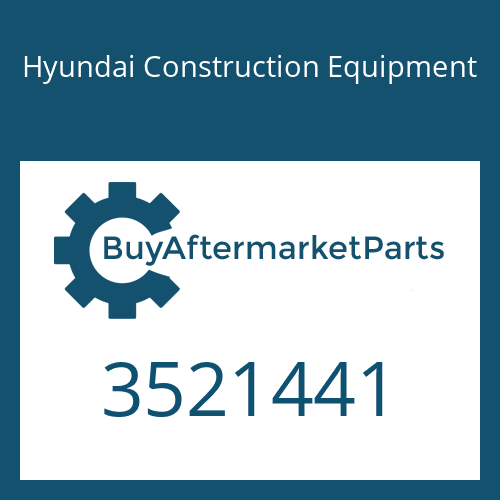 Hyundai Construction Equipment 3521441 - SEAL-SPLIT RING