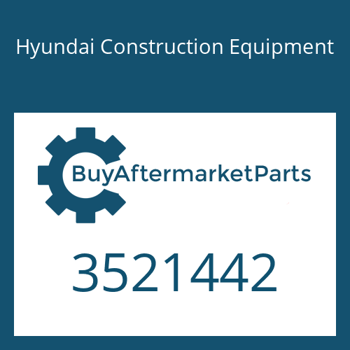 Hyundai Construction Equipment 3521442 - SEAL-SPLIT RING