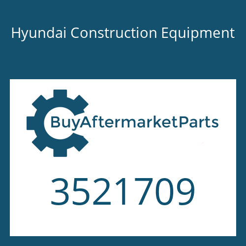 Hyundai Construction Equipment 3521709 - IMPELLER-TURBO