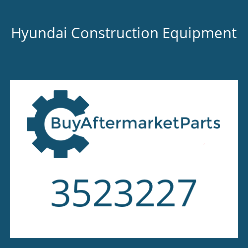 Hyundai Construction Equipment 3523227 - PLATE CLAMPING