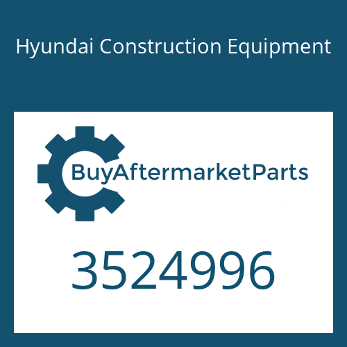 Hyundai Construction Equipment 3524996 - IMPELLER TUR COMPRESSOR