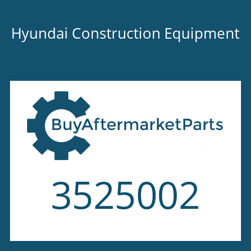 Hyundai Construction Equipment 3525002 - HOUSING COMPRESSOR
