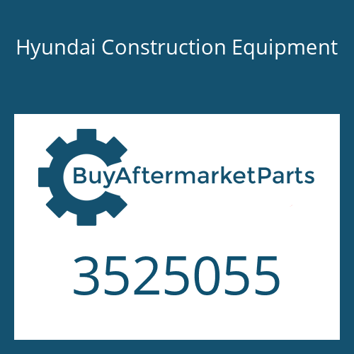 Hyundai Construction Equipment 3525055 - HOUSING-BEARING
