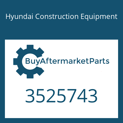 Hyundai Construction Equipment 3525743 - TURBOCHARGER ASSY