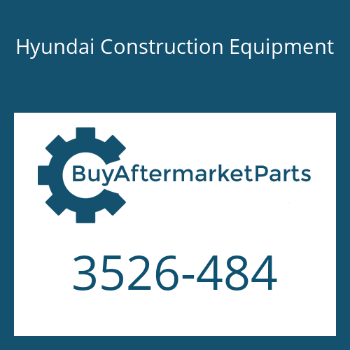 Hyundai Construction Equipment 3526-484 - CAP