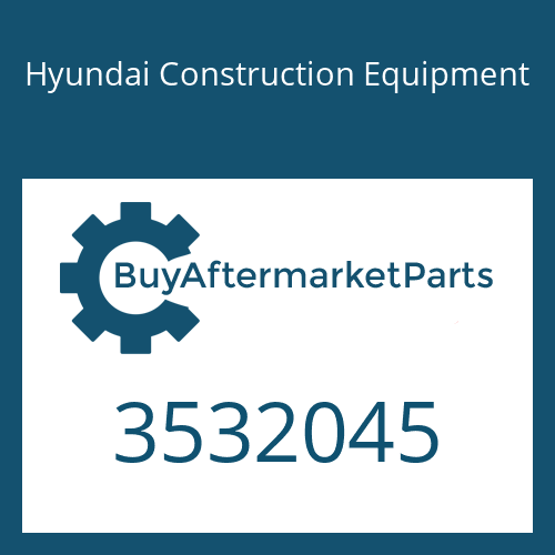 Hyundai Construction Equipment 3532045 - CLAMP-V BAND