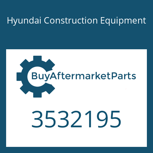 Hyundai Construction Equipment 3532195 - SPACER-MOUNTING