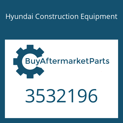 Hyundai Construction Equipment 3532196 - SPACER-MOUNTING