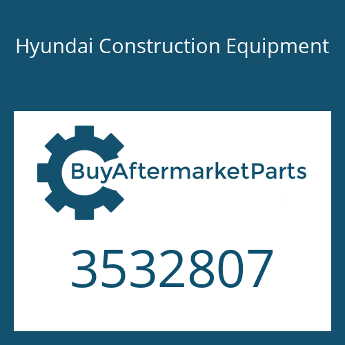 Hyundai Construction Equipment 3532807 - BEARING