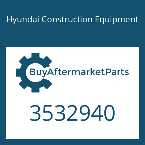 Hyundai Construction Equipment 3532940 - SCREW
