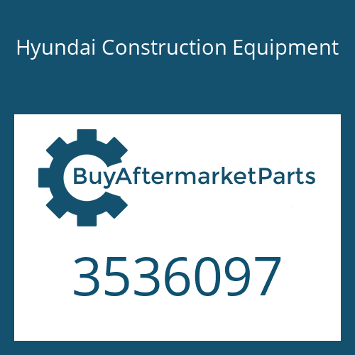 Hyundai Construction Equipment 3536097 - HOUSING