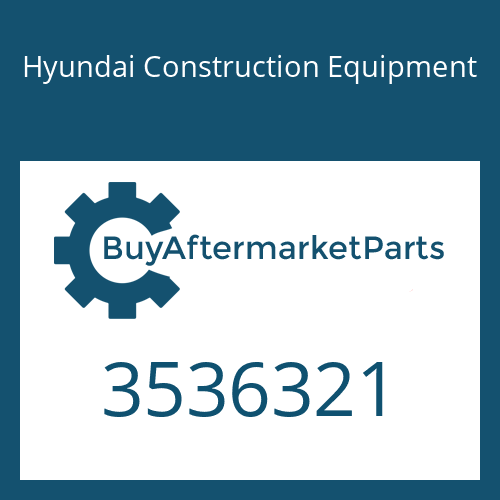 Hyundai Construction Equipment 3536321 - TURBOCHARGER