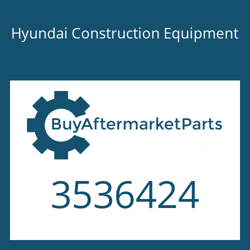 Hyundai Construction Equipment 3536424 - HOUSING