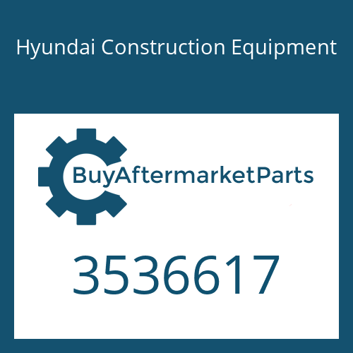 Hyundai Construction Equipment 3536617 - HOUSING