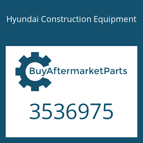 Hyundai Construction Equipment 3536975 - TURBO CHARGER