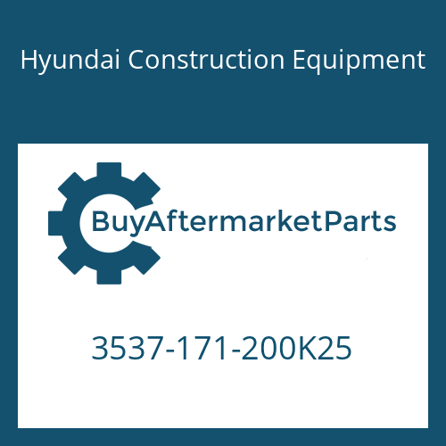 Hyundai Construction Equipment 3537-171-200K25 - PORT RELIEF V/V