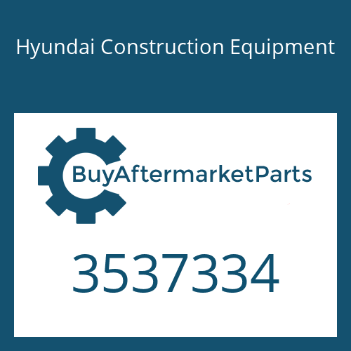 Hyundai Construction Equipment 3537334 - HOUSING