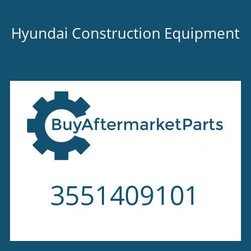 Hyundai Construction Equipment 3551409101 - COVER