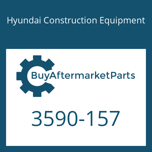 Hyundai Construction Equipment 3590-157 - SPRING