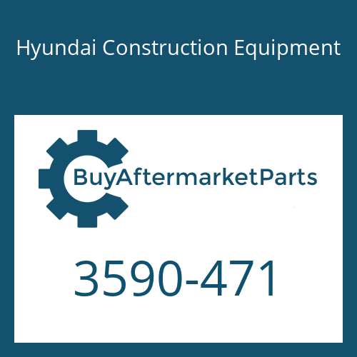 Hyundai Construction Equipment 3590-471 - SPRING