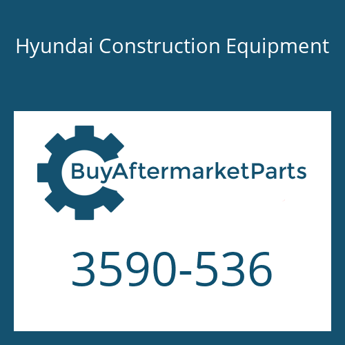Hyundai Construction Equipment 3590-536 - SPRING