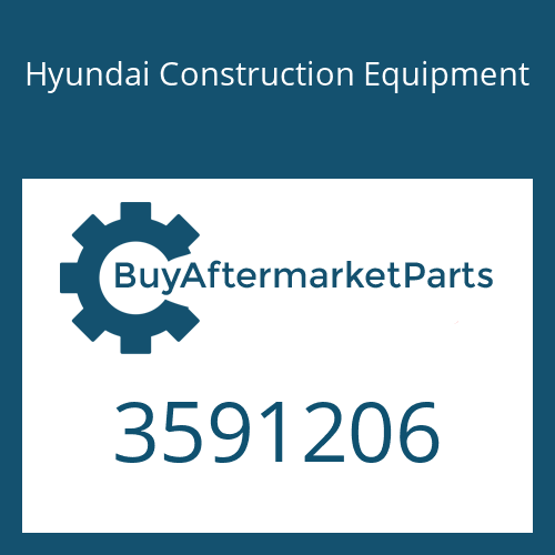 Hyundai Construction Equipment 3591206 - SPACER-MOUNTING