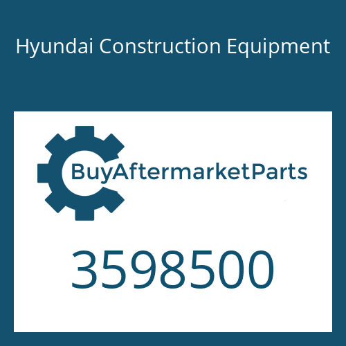 Hyundai Construction Equipment 3598500 - TURBOCHARGER ASSY