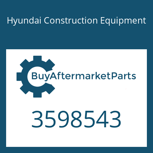 Hyundai Construction Equipment 3598543 - TURBOCHARGER KIT